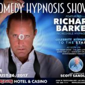 Comedy Stage Hypnotist Richard Barker