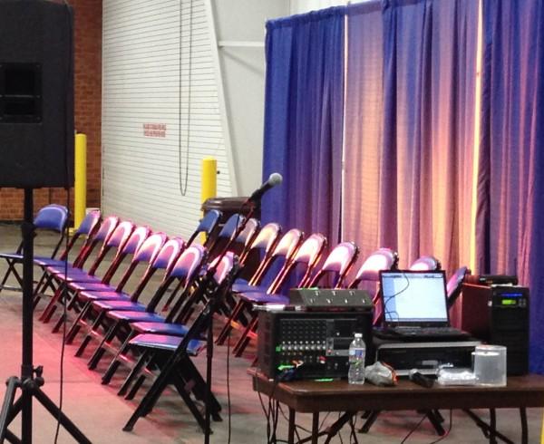 hypnosis show sound system