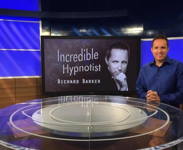 Hypnotist on TV