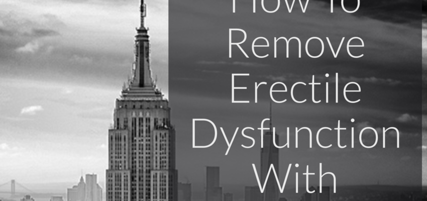 Remove ERECTILE DYSFUNCTION with hypnosis