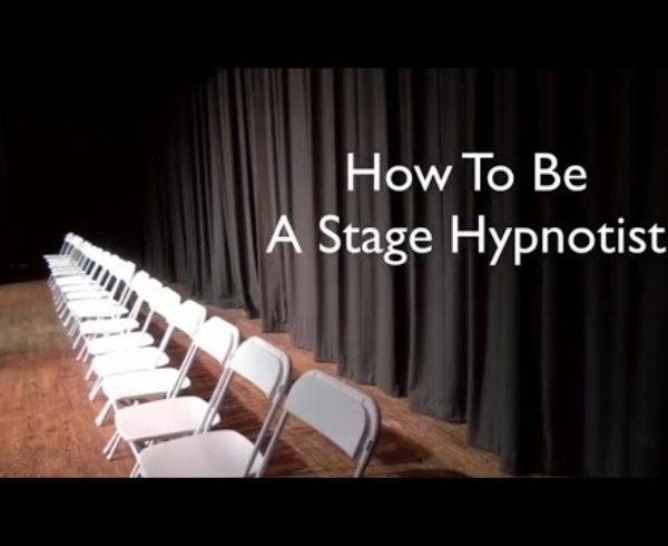 Richard Barker A Stage Hypnotist