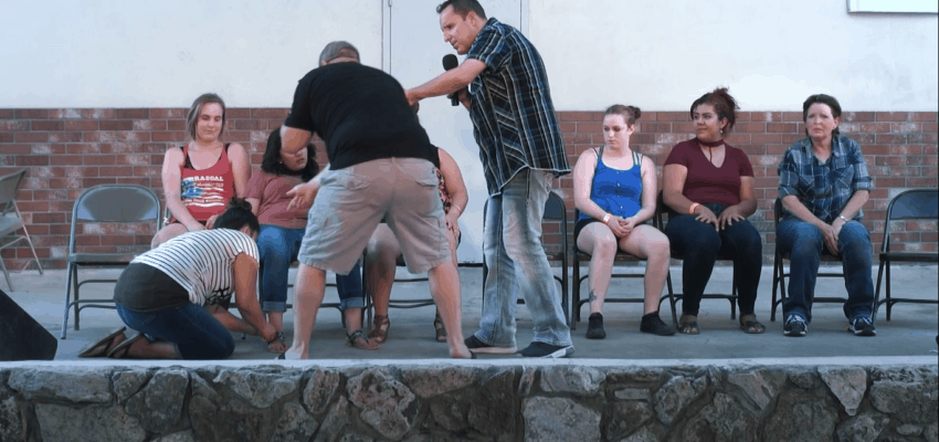 Safety is Important at a Stage Hypnosis Show