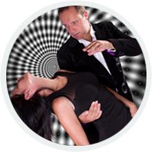 Hypnotist Richard Barker