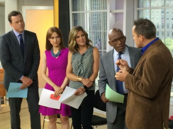 Comedy Stage Hypnotist on the Today Show