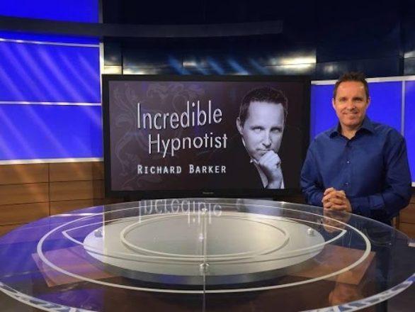 Richard Barker the Incredible Television Hypnotist on CBS
