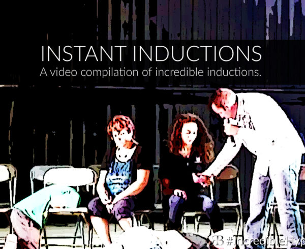 Comedy Hypnosis Show Video Instant Inductions Performed by Comedy Stage Hypnotist Richard Barker