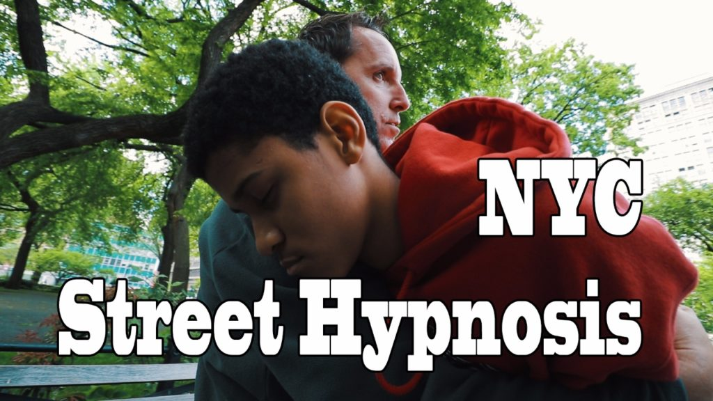 Street Hypnosis by Comedy Stage Hypnotist Richard Barker Watch and Learn how to hypnotize people
