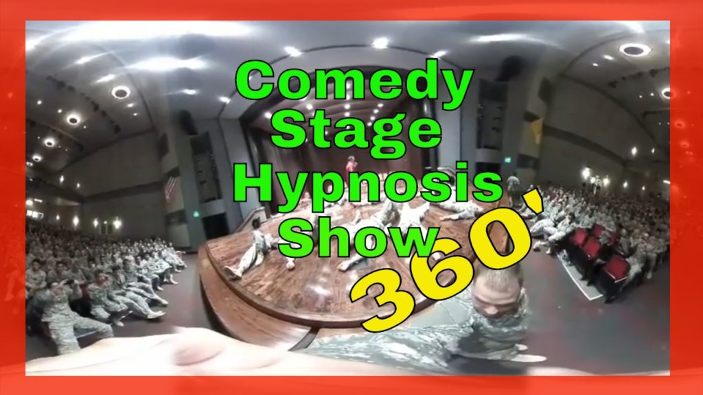 VR Comedy Hypnosis Shows Watch Stage Hypnotist Richard Barker