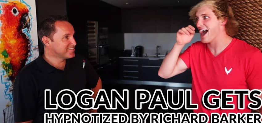Logan Paul Hypnotized by Comedy Stage Hypnotist
